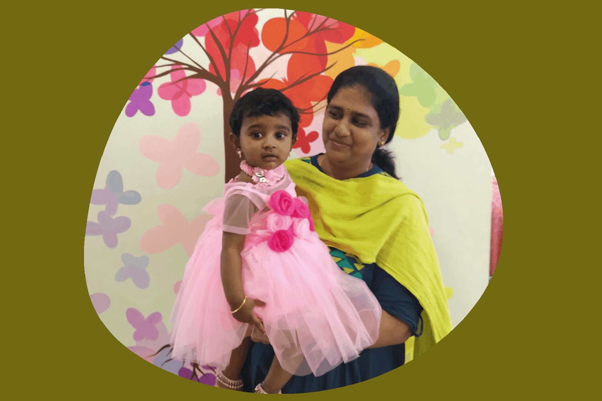 Rashmika's mother